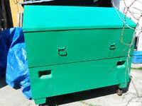 trade for a good dirt bike Greenlee tool box on wheels
