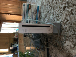 Console Wii + 10 jeux