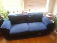 Now reduced price. Two-seater sofa for sale.
