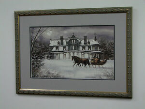 Moonlight Ride Framed print by Walter Campbell open edition O!O