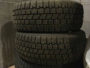 two only 195/60r14 winter tires