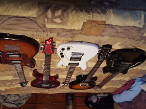 5 guitars for sale