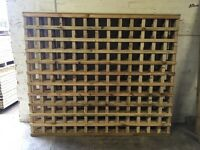 Tanalised Wooden/ Timber Trellis Fence Panels ~ High Quality