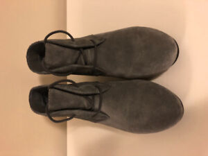 Nine West Suede Ankle Boots- Size 7