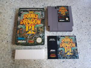 Nintendo nes pal a aus double dragon 3