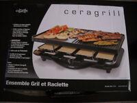 un petit grill a raclette CUIZEN Neuf et emballer a vendre!