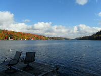 4 bedroom Cottage with Hot Tub on Haliburton's Kawagama lake!!