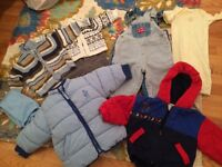 Lot of boys clothes 9-18 months