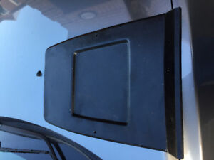 70-81 camaro front seat back plastic cover dyed black RARE