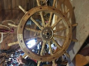 volant de bateau, stering wheel for a boat