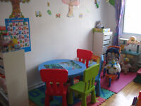 THE PARADISE FOR YOUR CHILDREN DAYCARE-$7,55/DAY-ACADIE/AUT.40