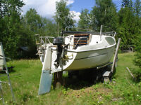 22' Reinell Sailboat Great Camping Boat! new price!