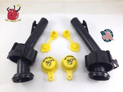 2 - Blitz Gas Can Spouts Rings Caps Vents Replacement Vintage 900092 900094 -new