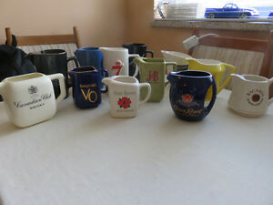 water pitchers/ 12 pc.-liquor advertising style Kitchener / Waterloo Kitchener Area image 1