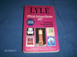 LYLE OFFICIAL ANTIQUES REVIEW 1997-COLLECTIBLES SOFTCOVER BOOK
