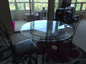 Dining Room Table - Four Chairs