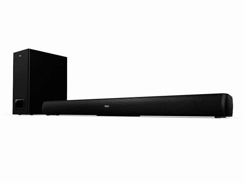 TCL TS501 Alto 5+ 2.1 Channel Home Theater Sound Bar with Wireless Subwoofer,