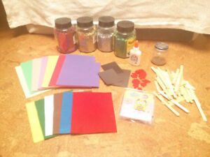 Large Box of Assorted Kids Crafts