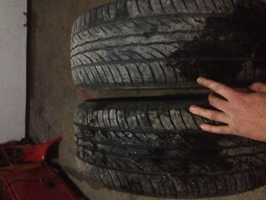 2 sailun tires from 2015- 205/55/R17