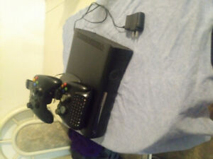 Xbox 360 (console w/o hdd, some extras thrown in)
