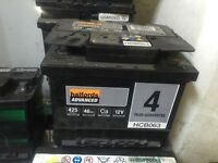 Car batterys petrol or diesel for sale