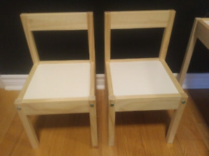 Toddler Table and Chairs $10