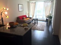 Luxury, furnished brand new 1 bedroom+ den, ( Bayview &Sheppard)