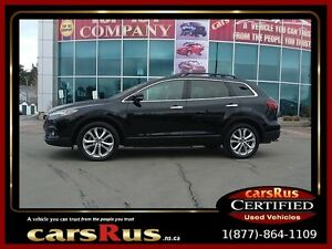 2013 Mazda CX-9 GT 7 Passenger DVD Bluetooth Leather Roof
