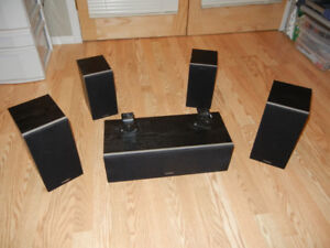 Home Theatre 5 Speaker Surround Sound System
