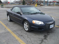 2004 Chrysler Sebring sport- Convertible-$2900 certified
