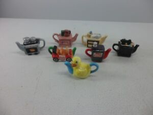 Red Rose Tea Miniature Teapots and Collectibles