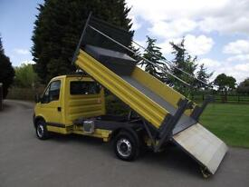 2008 08 VAUXHALL MOVANO RENAULT MASTER DCi TAIL-LIFT TAILIFT TIPPER # 77 000 MLS