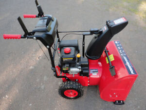 24INCH POWERSMART SNOWBLOWER LIKE NEW $600 O.B.O