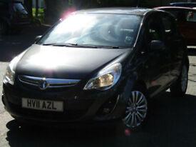 2011 Vauxhall Corsa 1.4i 16v SE**NEW MOT**PSH**HEATED SEATS + STEERING WHEEL**