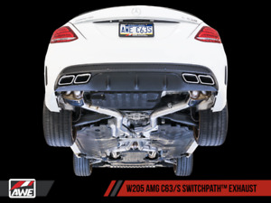 AWE-tuning Mercedes C63s Exhaust for sale!