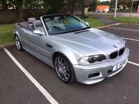 2004 (53) BMW M3 CONVERTIBLE SMG/ 81,000miles/ FSH
