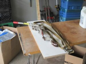 3 TON CABLE PULLERS AND NYLON STRAP - $40.00