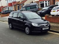2006 Vauxhall Zafira 1.6, 7 Seater, New 12 Month MOT, Cheap 4 Insurance, Excellent Reliable 5 Doors