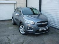2013 63 Chevrolet Trax 1.4 4X4 LT **Service History**