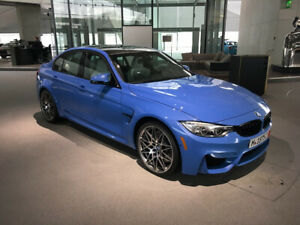 2017 BMW M3 - purchase or lease take over