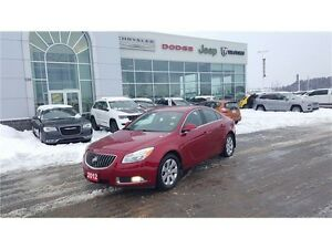 2012 Buick Regal w/1SNBase w/Canadian Comfort Pkg.