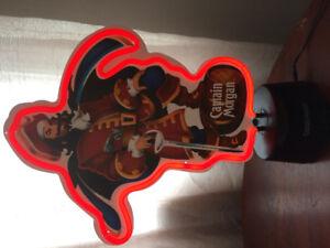 Captain Morgan's Collectable Neon Sign!