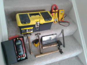 Stanley Tool Box With Tools !!!