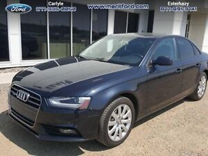2013 Audi A4 2.0T Quattro  - local - one owner - trade-in - sk t