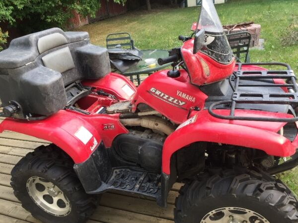 Yamaha 2006 yamaha grizzly 660 for sale canada for 2006 yamaha grizzly 660 value