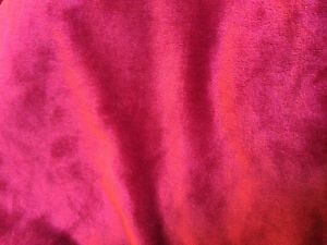Cozy soft cherry red bedspread/blanket great for cottage