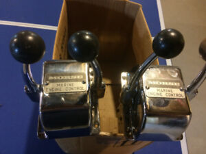 Morse throttle and transmission controls