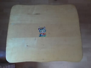 Child's wooden table