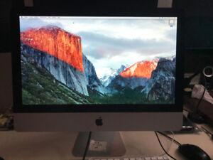 Apple IMac, MI-2010 21.5 pouces Intel  core i3 3.06 GHz  8 Go