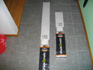 "Shade O Matic blinds 36"" wide and 60"" wide"